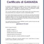 Certificato di GARANZIA -KOM_Risposta