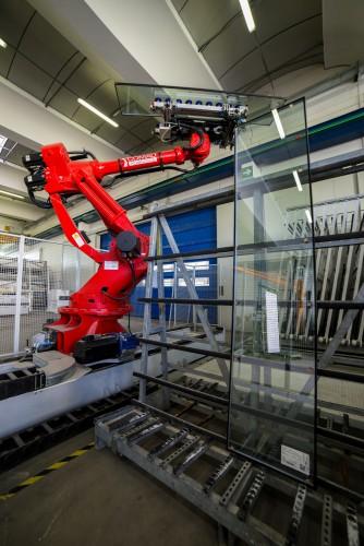 Robot magazzino vetri