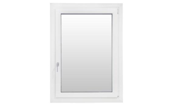 finestra monobattente destra colore bianco venato