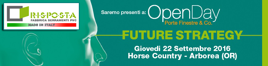 Banner OpenDay 22 Settembre