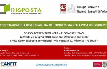 corso di formazione dei progettisti a Padova
