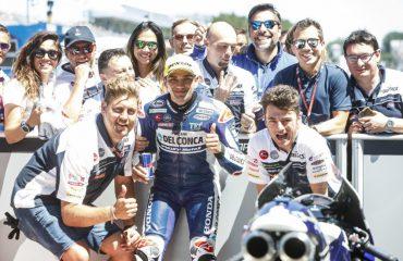 5 pole position stagionale per lo spagnolo del Team Del Conca Gresini
