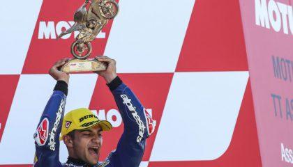 Quarta vittoria stagionale per il pilota spagnolo del Team Del Conca Gresini